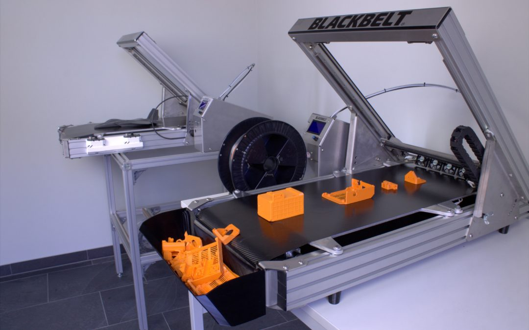 New Conveyor belt for Continuous 3D Printing