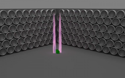 New Ultrasonic Particle Manipulation 3D printing